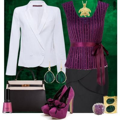 Цвет аметист фото в одежде