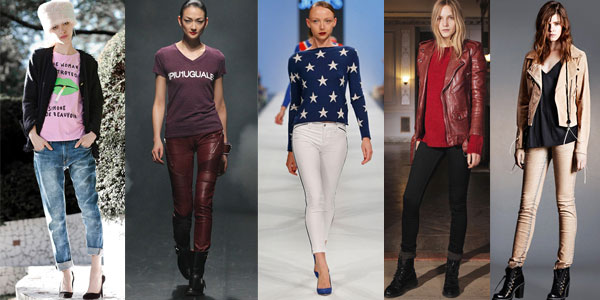 Модные джинсы осень-зима 2013-2014: Территория моды - мода на