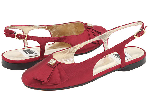 A-Line-6-A0496-Youth-Shoes-Dark-Red-Satin-11